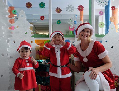 Santa's Gift Giving